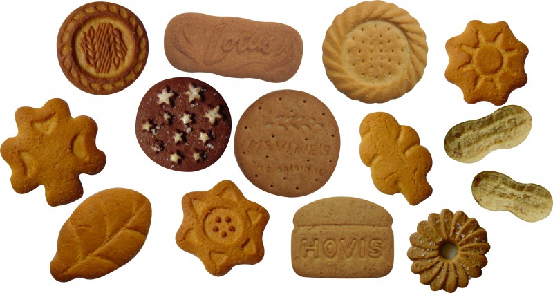 Moulded biscuits
